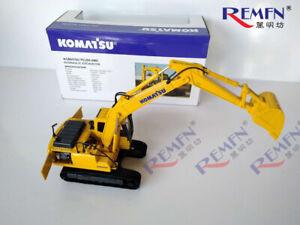 1/43 Komatsu pc200-8MO Hydraulic Excavator with Metal Tracks Engineering Vehicle