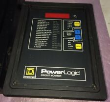 Square D Power Logic Circuit Monitor Class 3020/Cm2250 / Model:Iom-4444-20
