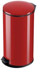 Hailo Pure XL Abfallsammler Rot Stahlblech