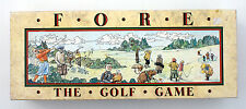 FORE - THE GOLF GAME - TOPVOGUE LTD 1987 (GAME OF SKILL, ACTION & CHANCE)
