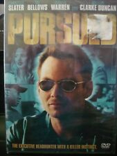 Pursued (DVD, 2004) Christian Slater WORLDWIDE SHIP AVAIL