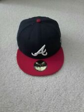 New era 59fifty 71/4  black/red Snapback Cap BNWT