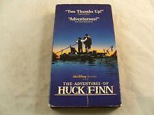(VHS 1993) Disney THE ADVENTURES OF HUCK FINN w/ Elijah Wood, Courtney B. Vance