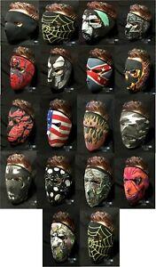 New Neoprene Full Face Mask Gaiter Scarf Veil Motorcycle