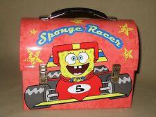 SpongeBob SquarePants Sponge Racer Lunchbox Tin Box 2006