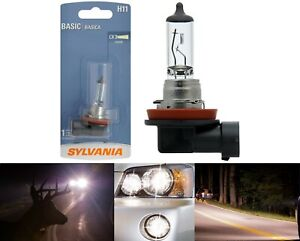 Sylvania Basic H11 55W One Bulb Fog Light Replacement Lamp DOT Plug Play Stock