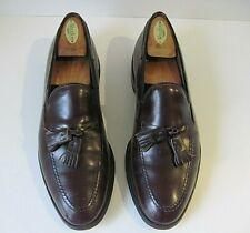 ALLEN EDMONDS Grayson Men's Cordovan Tassel Loafers 8297 Dress Shoes Size 9B
