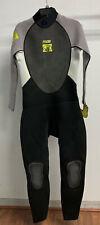 Body Glove Men's Pro 3 Full Wetsuit - Gray/Lime (Medium)