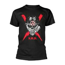 S.O.D. (Stormtroopers Of Death) - Scrawled Lightning (NEW MENS T-SHIRT )
