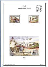 Album de timbres France 2016 à imprimer