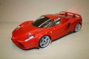 0055 - Ferrari Enzo 1/10 scale RC Car Body Clear 200mm Xray Sakura 4tec  RC10