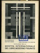 Ex Libris Pubblicazione Figurata Como 1968 Mostra Libro Moderno 46  pagine