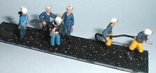 6 Assorted Miners Underground Workers OO Scale 1 76 Unpainted Langley Kit F211A