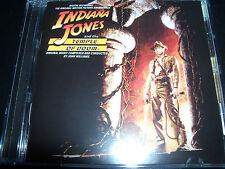 Indiana Jones & The Temple Of Doom Original Soundtrack (Australia) CD - New