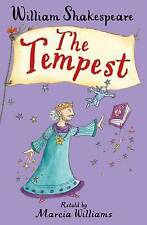 New - The Tempest ,William Shakespeare retold by Marcia Williams Paperback Book