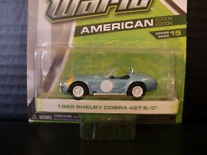 1965 Shelby Cobra 427 S/C Greenlight 1/64 Die Cast