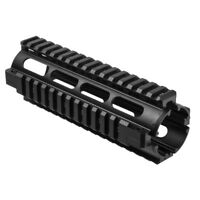 "NcStar 6.5"" Carbine Length Drop-in Aluminum Quad Rail Handguard"