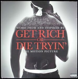 MUSIC FROM GET RICH OR DIE TRYIN' 2005 2X VINYL LP ALBUM COMPILATION *SEALED*