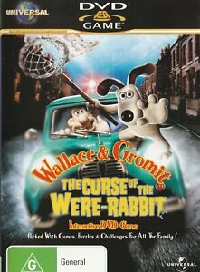 Pc & Dvd Interactive Game - Wallace & Gromit -  The Curse of the Were-Rabbit