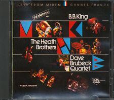 Pat Metheny, Dave Brubeck, BB King - Kool Jazz Live From Midem CD **BRAND NEW**