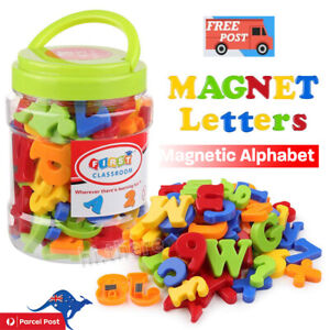 78PCS Magnetic Numbers Letters Alphabet Learning Toy Fridge Magnets Xmas gift