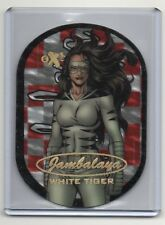 2017 Fleer Ultra Spider-Man White Tiger EX Jambalaya Die Cut 12 of 30