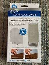 Nib Swiffer Continuous Clean Replacement Air Filters 2pack