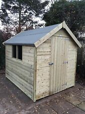 8x6 FACTORY Reject Shed Collection Only