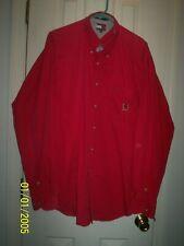 Tommy Hilfiger Red Long sleeve Shirt Sz XL