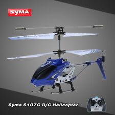 Syma S107G Mini 3.5 Kanal Infrarot RC Hubschrauber Helicopter mit Gyro Blau G1X8