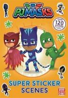 PJ Masks: Super Sticker Scene Book by Pat-a-Cake 9781526381934 | Brand New