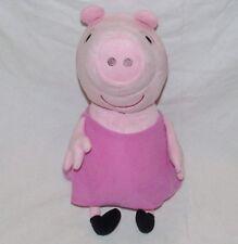 "15"" Large Pink Plush Peppa Pig Grandma Pink Dress 2015"