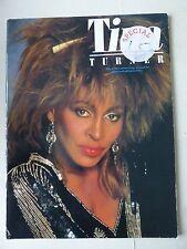 Tina Turner nueve grandes canciones arreglado para piano/vocal de guitarra canción libro 1986