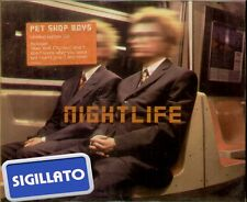 "PET SHOP BOYS "" NIGHTLIFE "" CD SIGILLATO LIMITED EDITION"