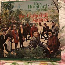 REX HUMBARD PRESENTS THE CATHEDRAL SINGERS VINYL LP  Gatefold 2 Albums Rare