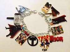 Thor Chris Hemsworth Bracelet HANDMADE PLASTIC CHARMS Loki Marvel Avengers Fun
