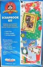 New Looney Tunes Christmas Fun Acid Free Archival Quality Scrapbook Kit