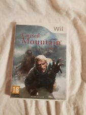 Jeu wii Cursed Mountain - Complet
