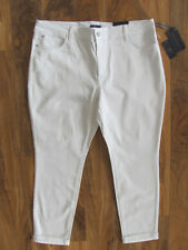 NYDJ Not Your Daughter's Jeans-Anabelle Skinny Boyfriend- White- Size 16P-NWT