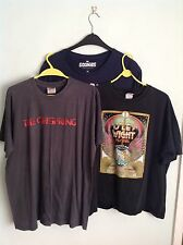 3 Mens XL OFFICIAL Tshirts OFFSPRING TOUR, ISLE OF WIGHT FESTIVAL, GOONIES