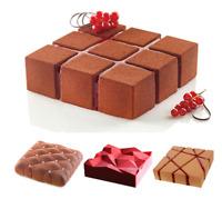 3D Cake Silicone Mould DIY Bakeware Pan Mold Baking Cupcake Mousse Decor Mould