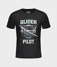 T-Shirt Aircraft Staff, Glider Pilot, schwarz, Segel Flugzeug, Mechaniker