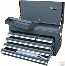 32 US Pro tools Single Top Tool Box / Chest Black 6 drawers, great tool storage