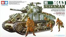 TAMIYA 1:35 KIT CARRO ARMATO M4A3 SHERMAN 105mm HOWITZER OBICE  ART 35251