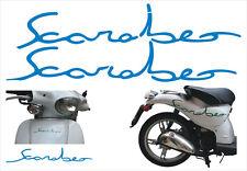Adesivi Scarabeo azzurro -  adesivi/adhesives/stickers