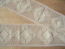 3 m dentelle crochet, superbe