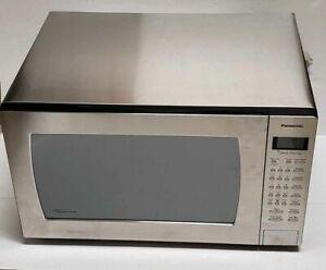 Panasonic NN-SN977S 2.2 Cu Ft Countertop Microwave Oven Genius Prestige