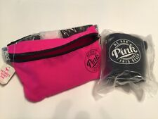 Victorias Secret PINK Fanny Pack Waist bag with Loozie- Hot Pink NWT