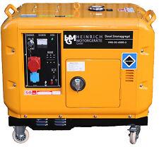 Diesel Stromerzeuger Notstromaggregat Stromaggregat 400V HMG-DG-6500S3 Generator