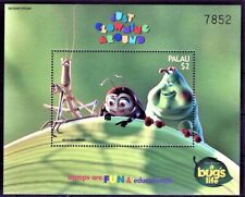 PALAU 1998 BUG'S LIFE EDUCATIONAL FUN STAMPS ANT ANIMAT CARTOONS WALT DISNEY MNH